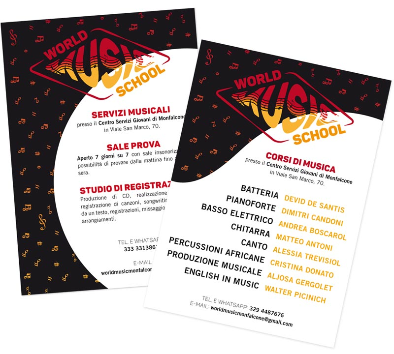 flyer world music school monfalcone